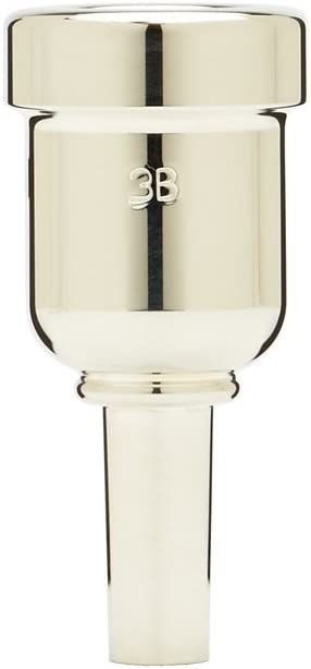 Denis Wick DW6881-3B Heavytop Silver-Plated Mouthpiece Over item handling ☆ Genuine Free Shipping Cornet