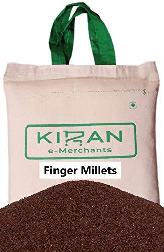 Kiran\'s Finger Millets, Goshudh Fingerhirse (Geschält & Sortex gereinigt) Eco-friendly pack, 5 lb (2.27 KG)