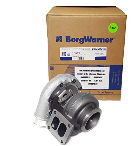 BorgWarner S300SX3 (66mm) Turbo (177275).91 A/R T4 Twin Scroll with v-band exit