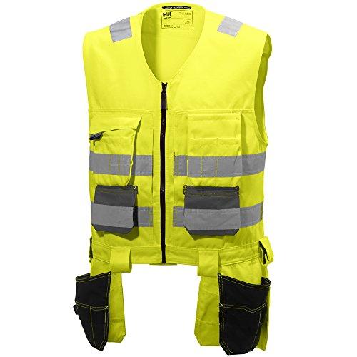 Helly Hansen 77110_369 Warnschutz Weste Alna Größe 2XL in gelb/dunkelgrau