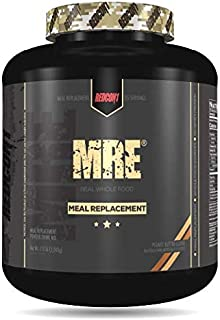 Redcon1 MRE, Meal Replacement Protein 7.15 Pound, Animal Based Protein, Real Whole Food Sources, 47G Protein, Low Sugar (P...