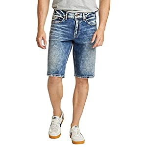 Silver Jeans Co. Men's  Relaxed Fit Jean Short