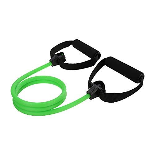 Momoxi I-förmiger Spanner Brust Multifunktionsspanner grün 25LBS 2020 Fitness Für Zuhause, Gesund Faszienball Ball entspannen Yoga Ball springseil mit zähler yogamatte naturkautschuk