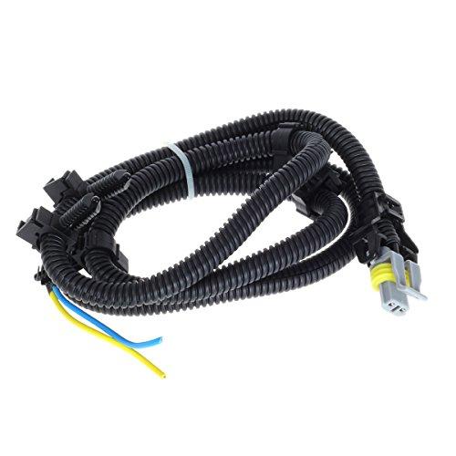 AUTEX 1PC ABS Wheel Speed Sensor Connector N15002 10340314 970040 Wheel Speed Sensor Wire Harness Repair Kit Compatible with Century 05-01, DeVille/Impala 05-00, Grand Prix 08-00, LaCrosse 09-05