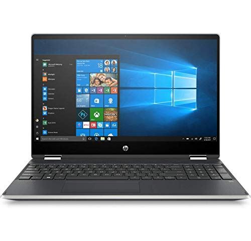 HP Pavilion x360 15-DQ1004NA 15.6' HD Convertible touchscreen Laptop Intel Core i3-10110U, 8GB DDR4, 512GB SSD, Wireless 11ac & Bluetooth 4.2, HD Webcam, Windows 10 Pro – UK Keyboard Layout (Renewed)