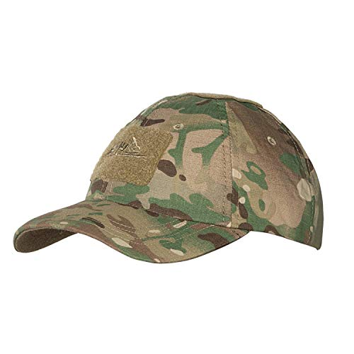 Helikon-Tex Men's Tactical BBC Cap-Polycotton Ripstop-Camogrom, Mehrfarbig, universal