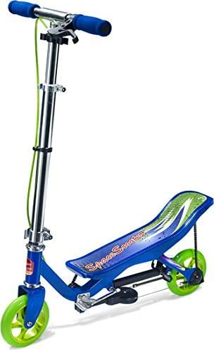 Space Scooter X 360 blau Junior MIT Gravur - inkl. hochwertiger Namensgravur - SpaceScooter Wipproller X360 Blue