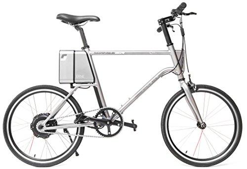 E-bike yunbike C1Hombre, aluminio bicicleta eléctrica 20pulgadas–Ross omotors–Urban–Bicicleta de ciudad con buje & Samsung 36V Batería