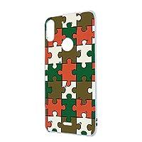 FFANY トーンモバイル TONE e19 用 ハードケース スマホケース パズル柄・ベーシック おもしろ ゲーム パロディ TONEあんしんAI イー ナインティーン SIMフリー スマホカバー 携帯ケース 携帯カバー puzzle_aao_h190732