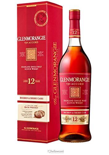 Glenmorangie The ACCORD 12 Years Old Highland Single Malt Bourbon & Sherry Cask 43% - 1000ml in Giftbox