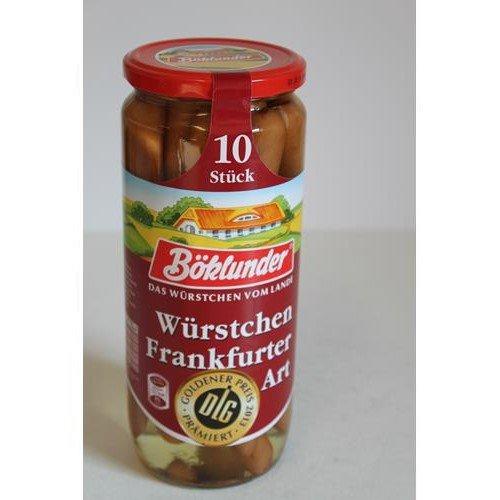 Böklunder Würstchen Frankfurter Art 500g
