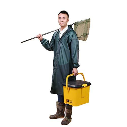 Damesjas met capuchon, regenjas, regenjas voor heren, regenjas voor buiten Draagbare Poncho - EVA-materiaal - Grijze ademende regenjas