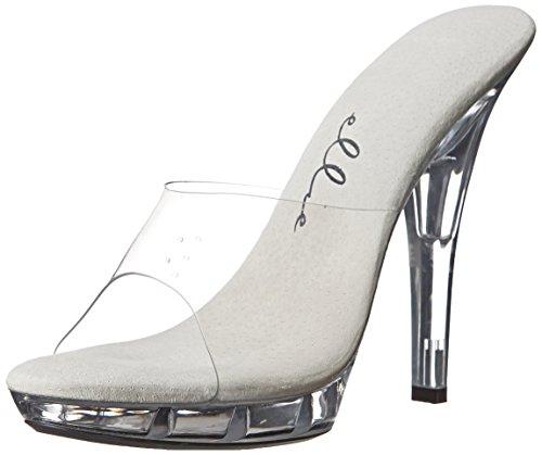 Ellie Shoes Women's M-Vanity, Clear, 6 M US