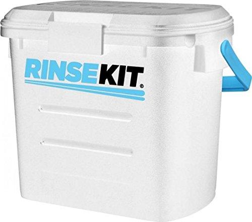 RinseKit presurizada ducha portátil Camping al aire libre | color blanco