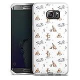 DeinDesign Coque en Silicone Compatible avec Samsung Galaxy S6 Edge Plus Étui Silicone Coque Souple...