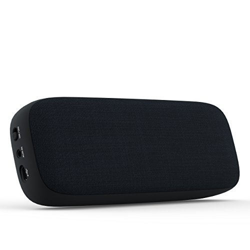 Buy portable wireless bluetooth speaker-XIQEER Fabric Home Speaker Bluetoth 4.1 Hand Free Call 3.5mm Aux Superior Surround Sound with 5 Hour Playtime for Home Indoor Travel Outdoors