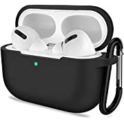AirPods Pro Case, ATUAT Protective Silicone Cover Compatible with Apple AirPods Pro (2019)