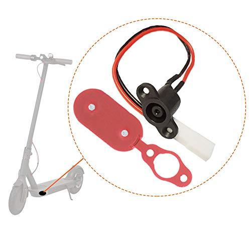 DronePost Tapa del Cargador y Cable Conector Carga batería Xiaomi Mijia M365 Patinete Electrico tapón Silicona (Tapa|Xiaomi)