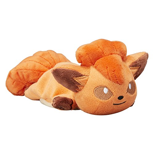 Pokemon Center Original Kuttari Vulpix (Rokon) Stuffed Beanbag Poke Doll Plush (6.5-Inch)