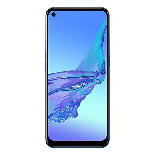 OPPO A53s Smartphone, 4 GB + 128 GB, Fancy Blue