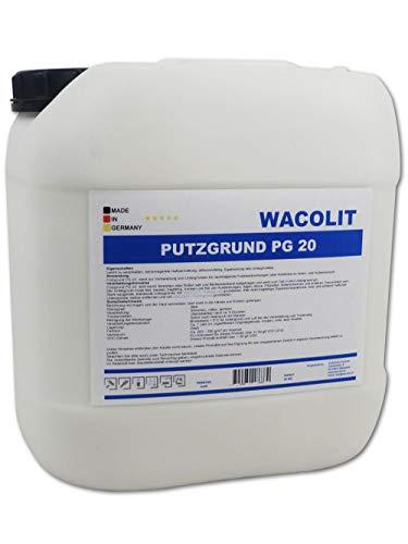 20 kg Wacolit Putzgrund Quarzgrund weiß für Innen u. Außen
