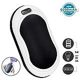 Hand Warmers, USB Hand Warmers Reusable 6000mah 3-in-1 Function Pocket Hand Warmer