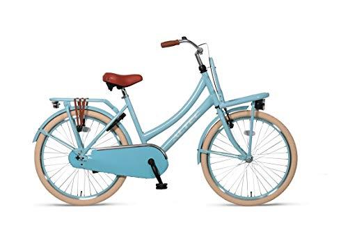 Hoopfietsen 26 Zoll Hollandrad Mädchen Altec Urban Single Speed Blau 46 cm Rahmengröße