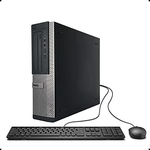 DELL OPTIPLEX 390 DT Desktop Computer, Intel Core I3-2100 3.1GHz, 8GB DDR3, 1TB, DVD, WIFI, HDMI, VGA, Bluetooth 4.0, Windows 10 Professional 64 Bit (Renewed)