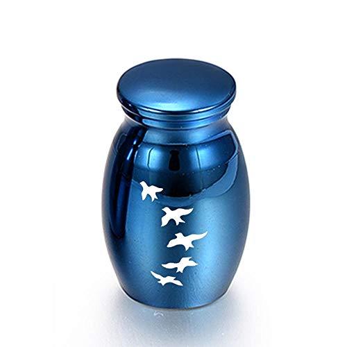Urna Cenizas Pequeñas Urna De Cenizas De Cremación De Aves para Mascotas Urna Cenizas Humanas Memorial Ataúd-D