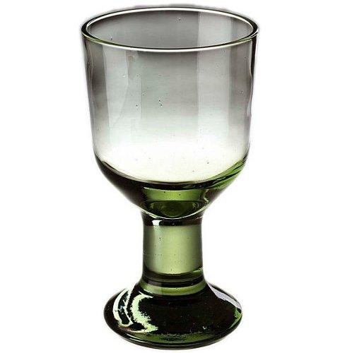 Original Thüringer Waldglas Weinglas Becher 14cm 0,2l Geschenkset 2 Stück im Geschenkkarton