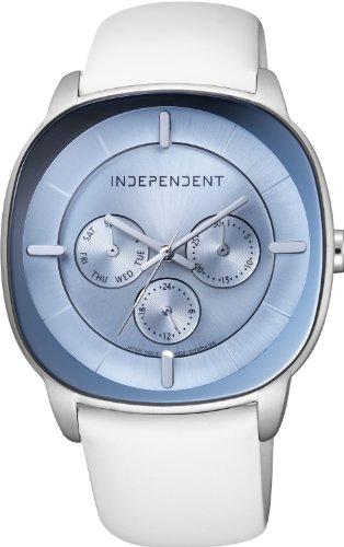 [インディペンデント]INDEPENDENT 腕時計 Timeless Line Clear Pebble マルチカレンダー BH7-318-90 メンズ