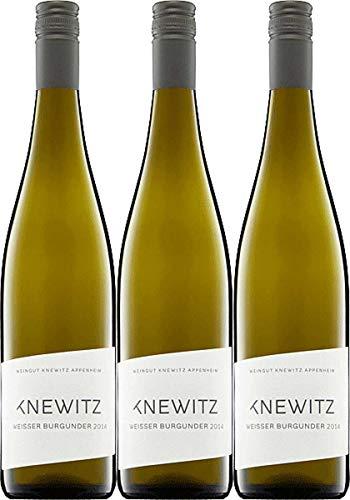 Weingut Knewitz Weißburgunder trocken Weingut Knewitz Weissburgunder 2018 trocken   (3 x 0.75 l)