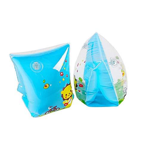 Fancyland - 1 par de Bandas hinchables para Brazos de natación para niños, Anillo Flotante de círculo de Brazo de Dibujo Animado, Juguete Hinchable para Piscina para niños y bebés