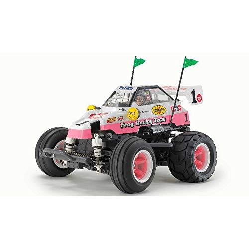 Tamiya 300058673 1:10 RC Comical Frog (WR-02CB), Bausatz, zum Zusammenbauen, bebilderte Aufbauanleitung, ferngesteuertes Auto/Fahrzeug, Modellbau, Hobby, orginalgetreu, detailliert, unlackiert