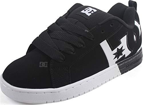 DC Court Graffik - Zapatillas de skate para hombre, Negro (Negro/Blanco/Negro), 46 EU