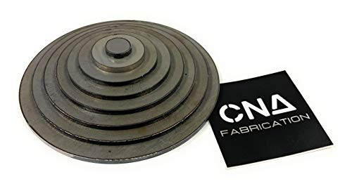 Welding Kit - Lap Joint Trainer Cone - 11 Gauge Steel Circles - Practice Training DIY - MIG TIG Stick Gas Arc Weld (Other, Circles)