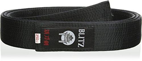 Blitz Sport Deluxe Silk - Expositor de Cinturones de Artes Marciales, Color Negro, Talla 320cm