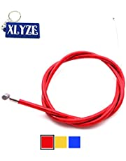 XLYZE Gas Cable del acelerador rojo para 43cc 47cc 49cc Mini Moto Kids ATV Quad Dirt Super Pocket Bike