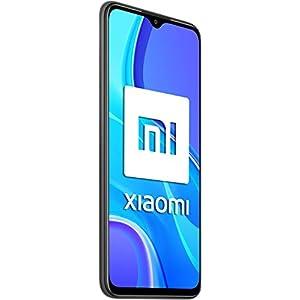 """Xiaomi Redmi 9 - Smartphone de 6.53"""" FHD+, 4 GB y 64 GB, Cámara cuádruple de 13 MP con IA, MediaTek Helio G80, Batería de 5020 mAh, 18 W de Carga rápida, Gris [Versión ES/PT]"""