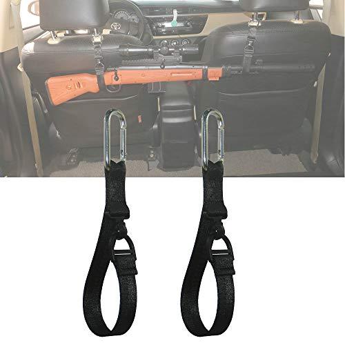 CNTASHI 1 Pairs Vehicle Headrest Gun Rack Fit Car Seat...