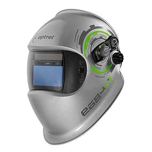 Optrel 7640127614976 Automatikkopfschirm e684, Silber