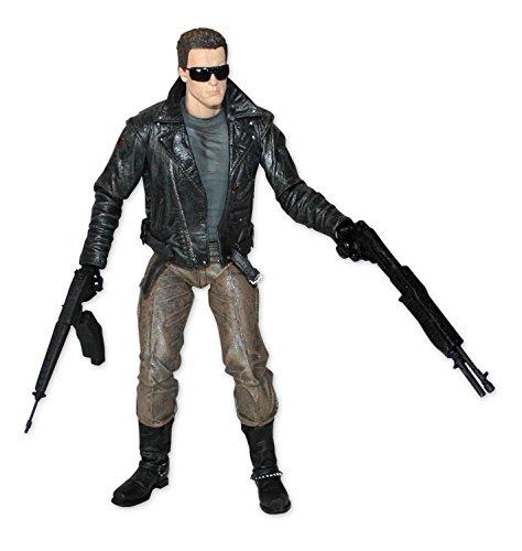 Neca Terminator Actionfigur T-800 Ultimate Police Station, H: 18 cm, bewegliche Figur aus Kunststoff