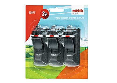 Märklin my world 23977 - Kunststoffgleis Prellbock (Inhalt: 3 Stück) , Spur H0