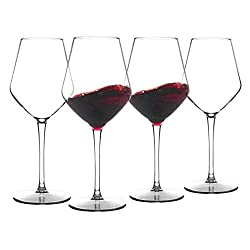 Michley Unbreakable Stemmed Wine Glass