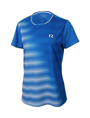 FZ Forza - Sport T-Shirt Hulda - blau, für Damen - geeignet für Fitness, Running, Fußball, Squash, Badminton, Tennis etc. - XS