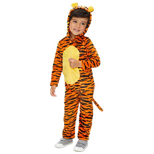 Disney Tigger Infant Baby Fleece Costume Hooded Coverall with Tail 18 Months