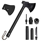 Survival Axe Hatchet Multitool Axe Hunting Kit Survival Axe Head with Sheath for Camping Hiking...