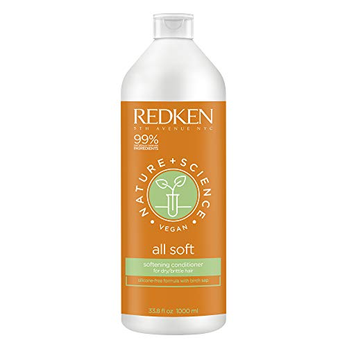 Redken Nature + science all soft conditioner 1000 ml - 1000 ml