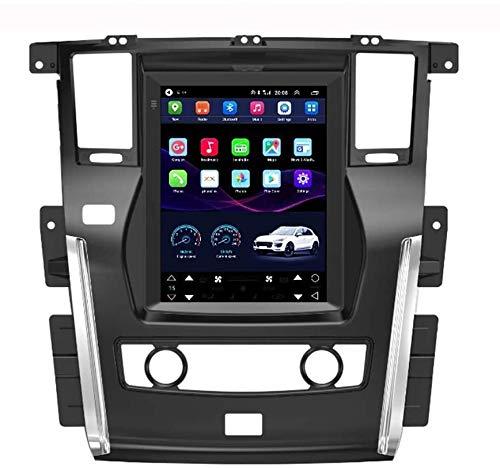 para Sat Nav Nissan Patrol 2010-2018 Dispositivo de navegación GPS Navegación Navi para automóvil con Pantalla táctil de 9.7 Pulgadas Estéreo Android 32g WiFi/BT Tethering Internet
