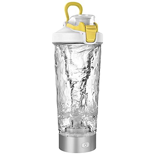 Blackube Elektryczny shaker proteinowy shaker bez BPA Tritan 600 ml przenośny elektryczny mikser Vortex do ładowania przez USB
